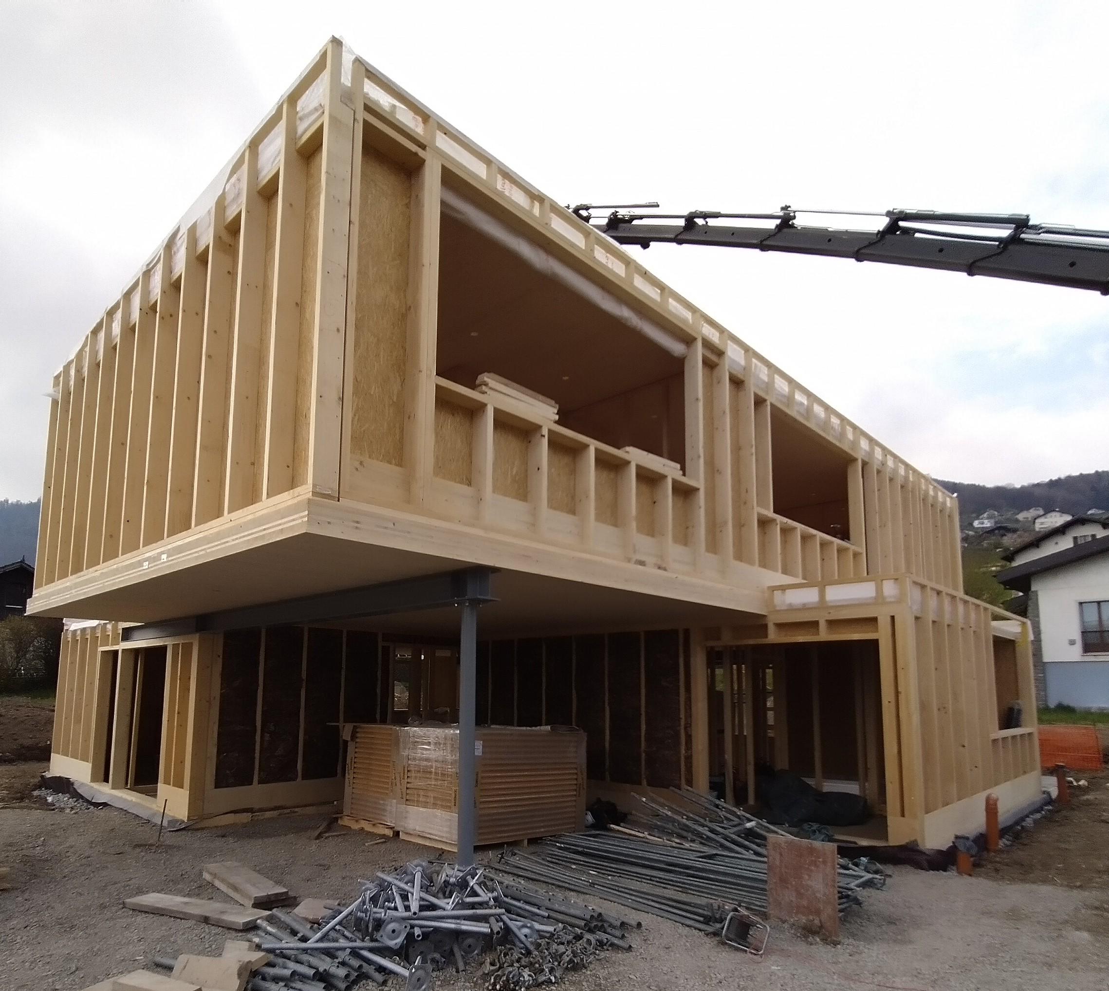 Bureau technique construction bois